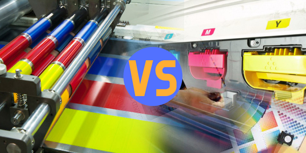 Digital Printing vs Offset Printing: How To You Choose The Best Option For Your Print Project