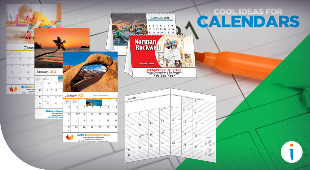 Cool Calendar Design Ideas for Even the Blandest Brands