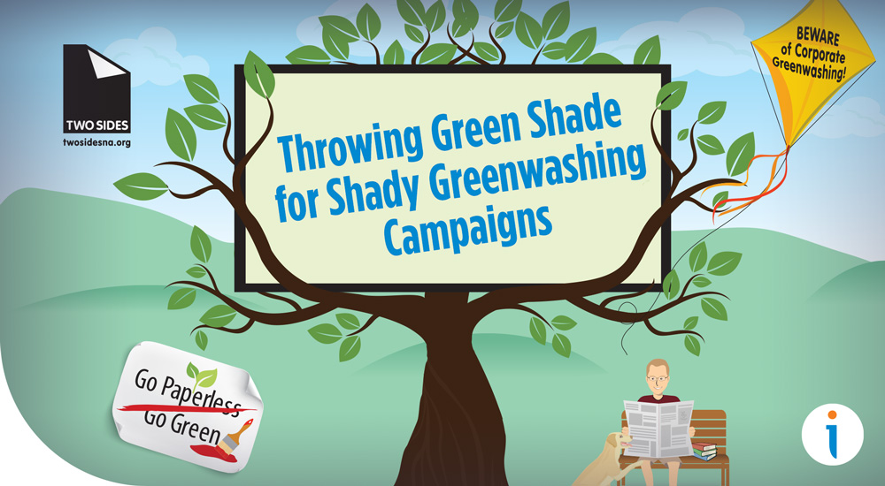Throwing Green Shade for Shady Greenwashing Campaigns