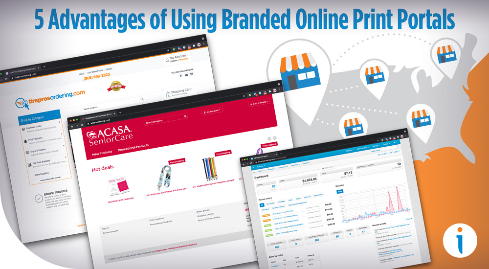 5 Advantages of Using Branded Online Print Portals