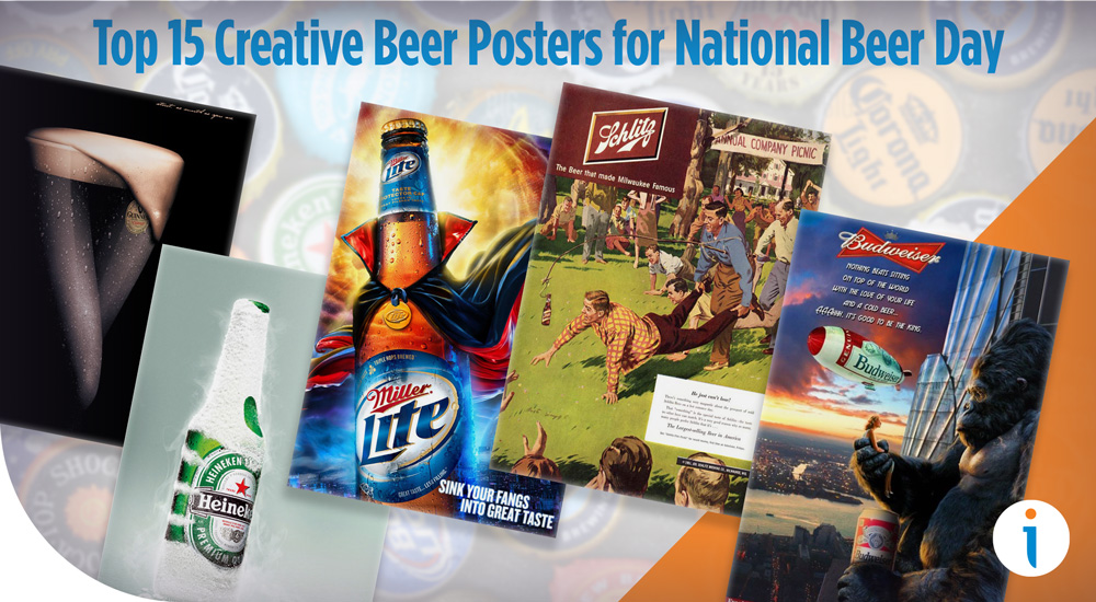 Top 15 Creative Beer Posters & Ads