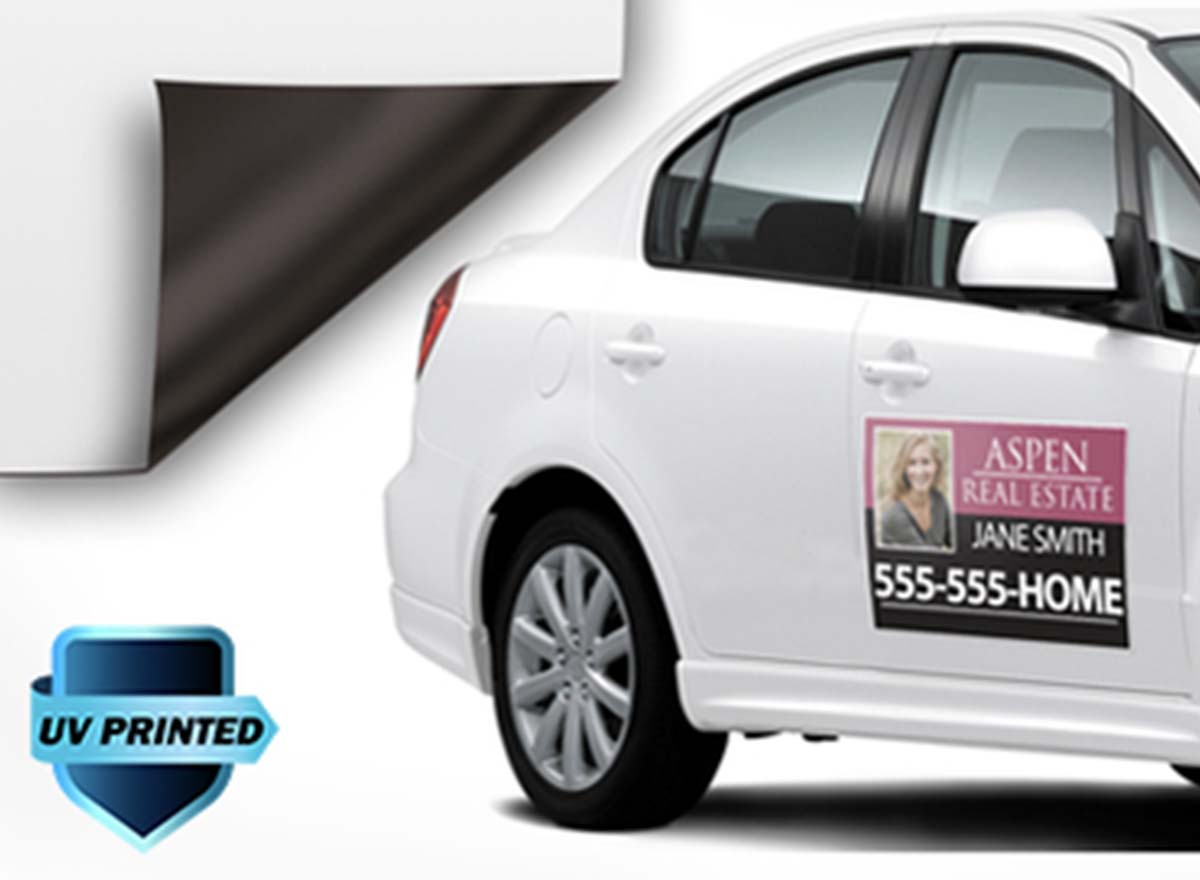 Large Format Printing - Car Magnets