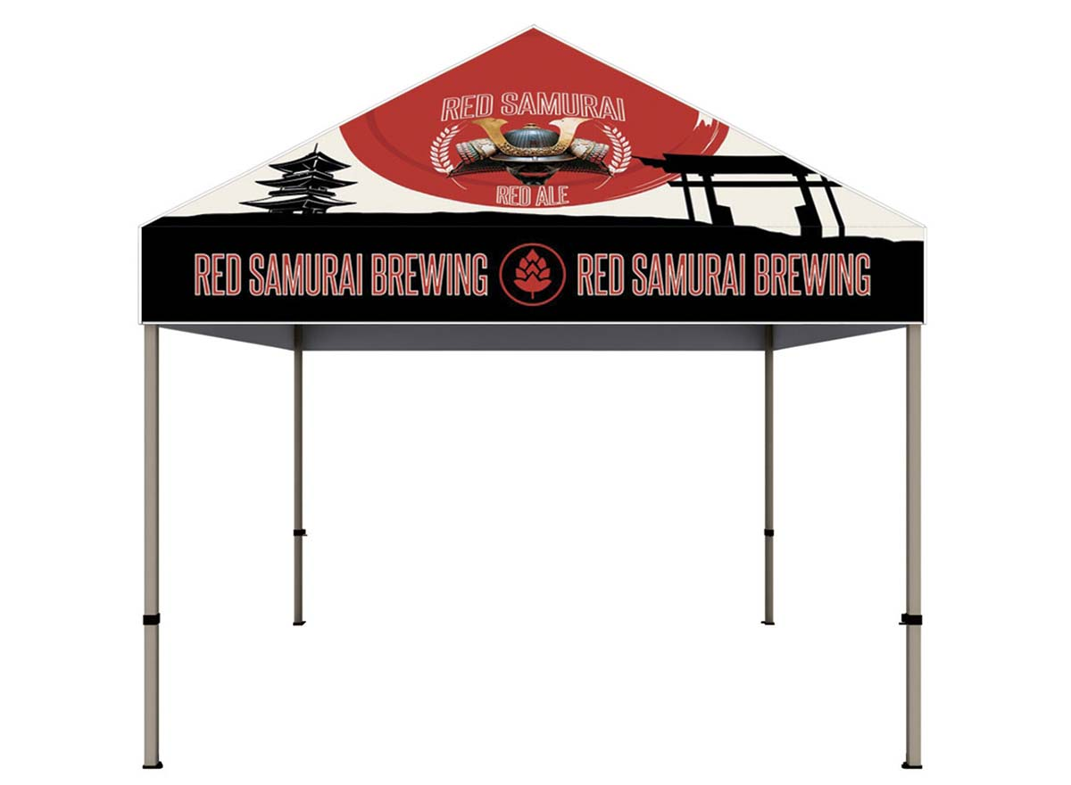 Large Format Printing - Event Tent