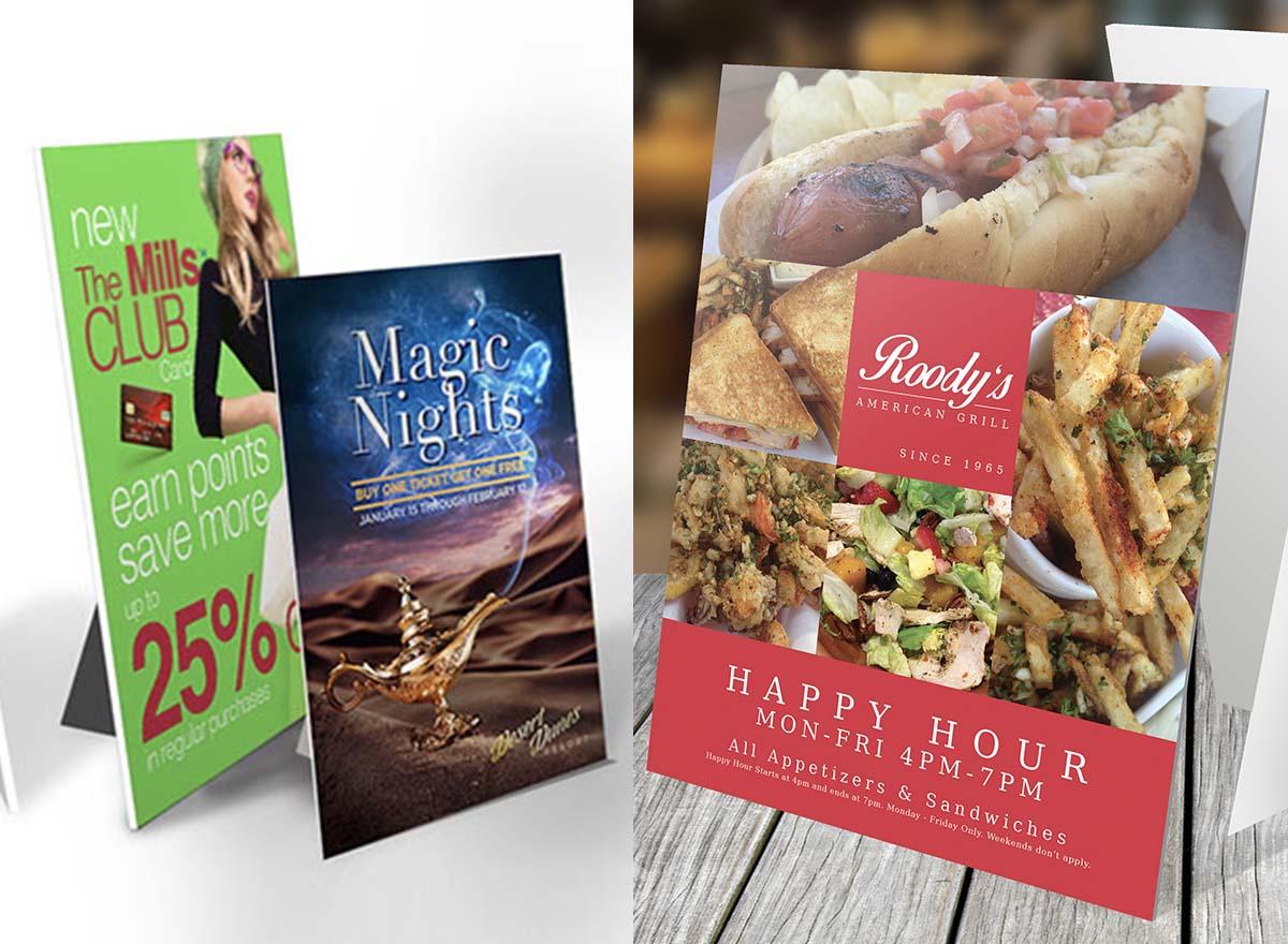 Marketing Materials Printing - Counter Cards