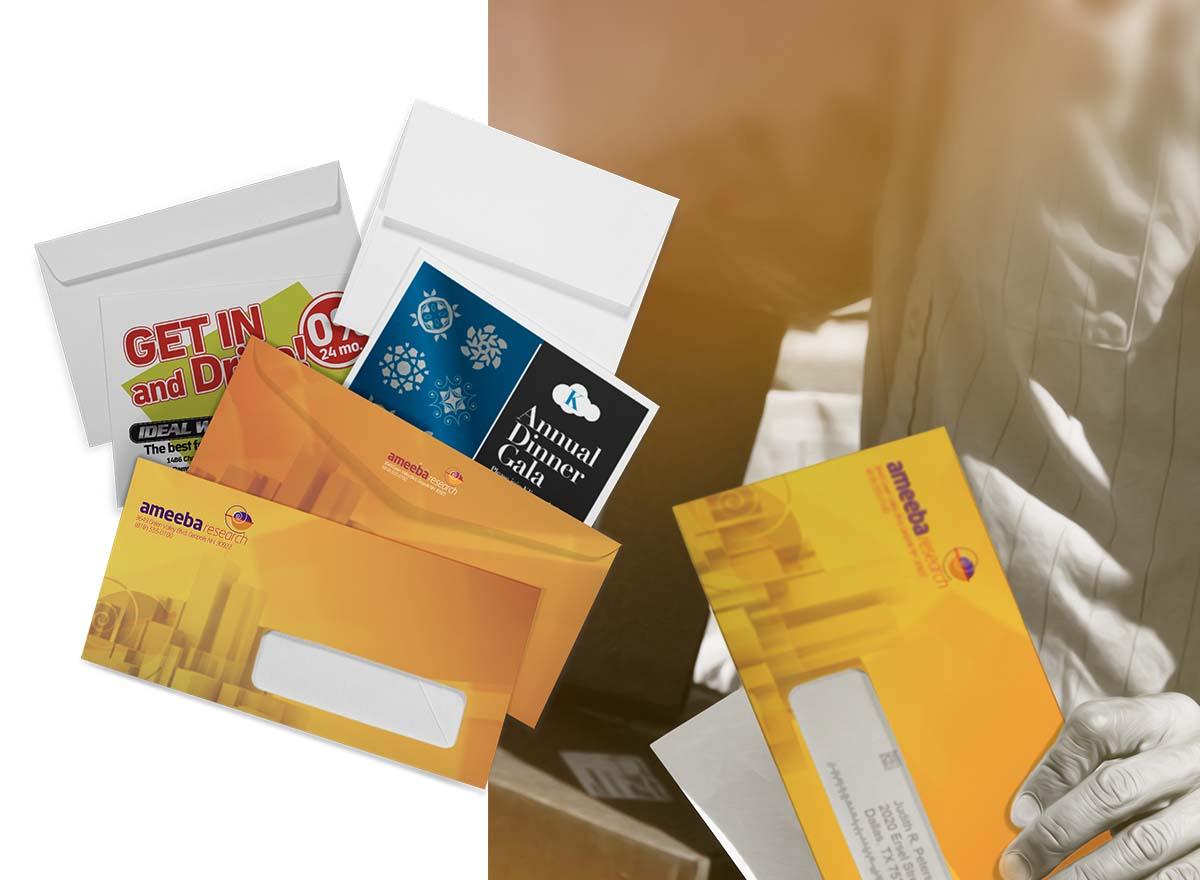 Marketing Materials Printing - Envelopes