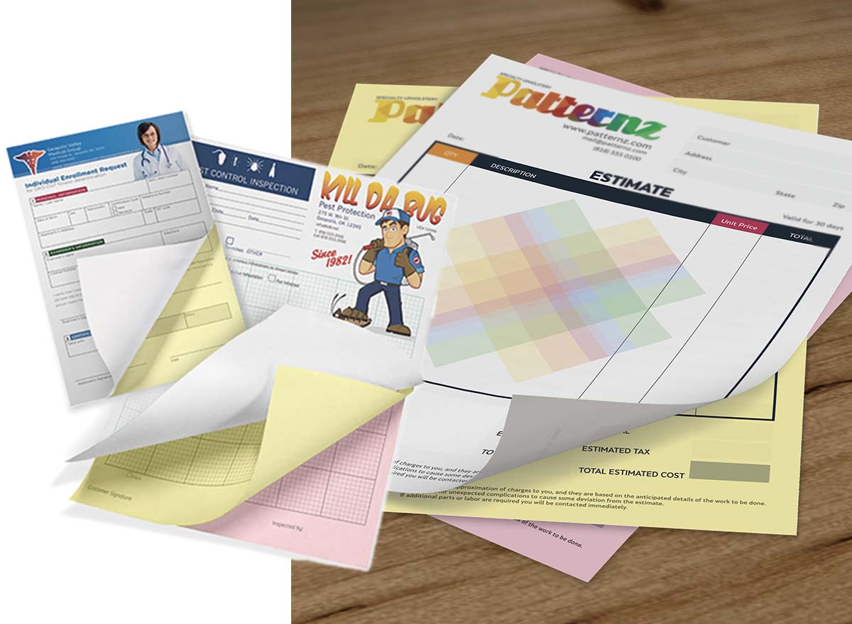 Marketing Materials Printing - NCR Forms