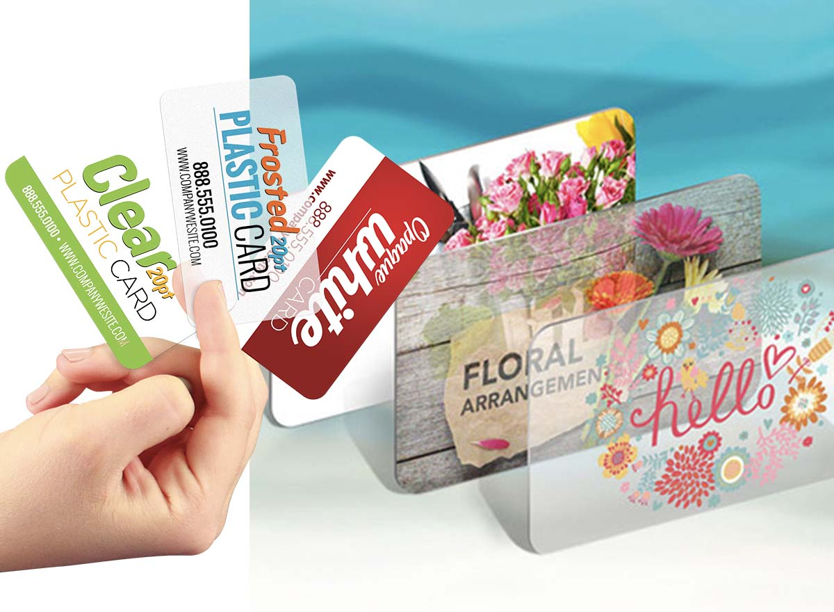 Marketing Materials Printing - Plastic Cards