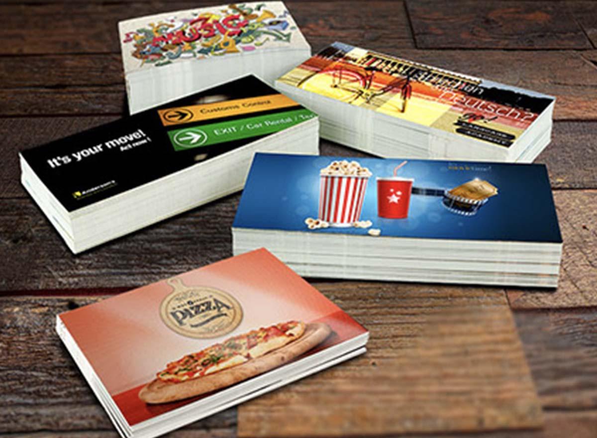 Marketing Materials Printing - Postcards
