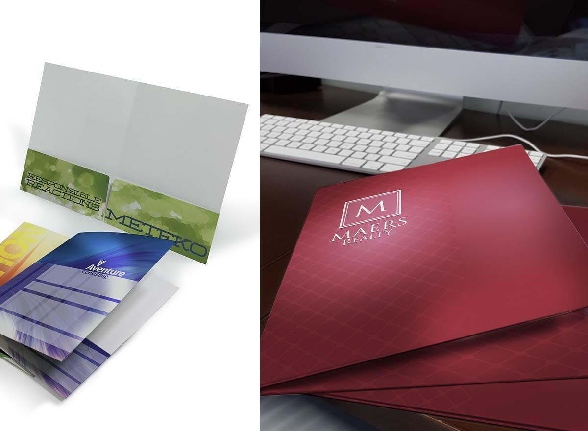 Marketing Materials Printing - Presentation Folders