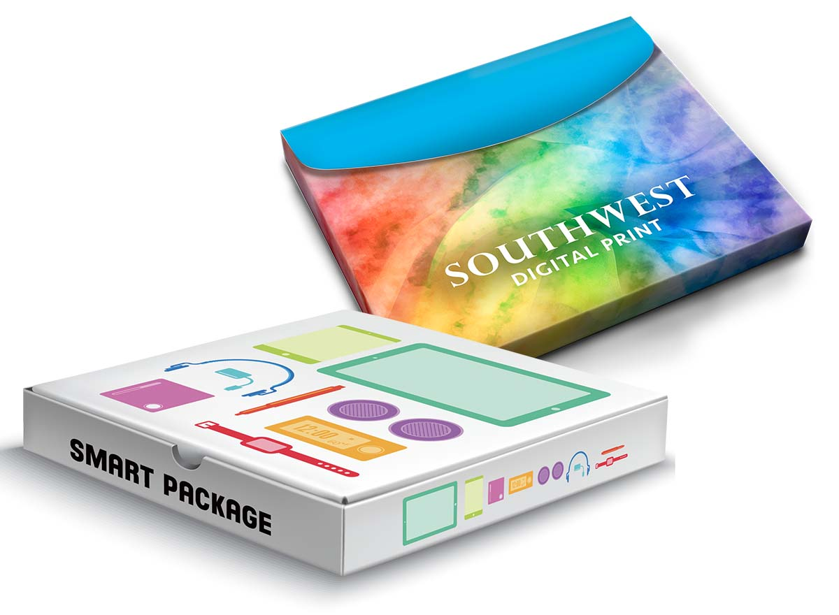 Packaging & Stickers Printing - Sales Presentation Boxes