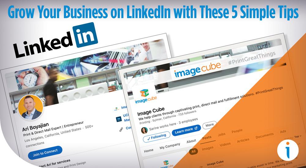 Grow Your Business on LinkedIn