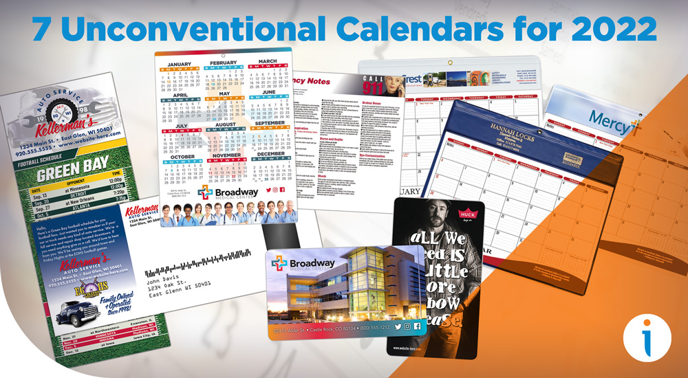 7 Unconventional Calendars for 2022